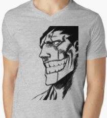Zaraki Kenpachi Men's V-Neck T-Shirt