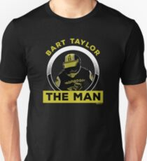 """Bart """"The Man"""" Taylor FULL COLOR Unisex T-Shirt"""