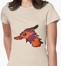 Sunburst Dragon Womens Fitted T-Shirt