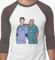 JD and Turk Scrubs Men's Baseball ¾ T-Shirt