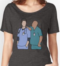 JD and Turk Scrubs Women's Relaxed Fit T-Shirt