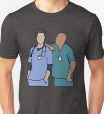 JD and Turk Scrubs T-Shirt