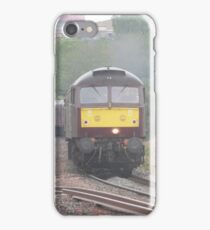 47746 'Chris Fudge' leaving Plymouth iPhone Case/Skin