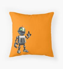 Inquisitive and Thoughtful Throw Pillow
