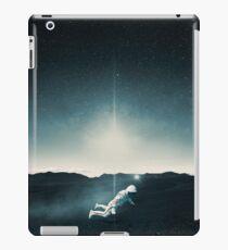 A Levitating Astronaut iPad Case/Skin