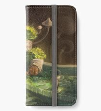 Mossy houses iPhone Wallet/Case/Skin