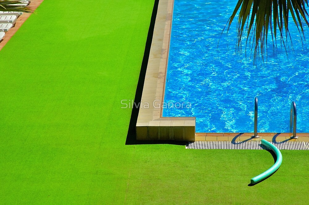 Swimming-pool by Silvia Ganora