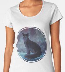 Hollyleaf (circle) Women's Premium T-Shirt