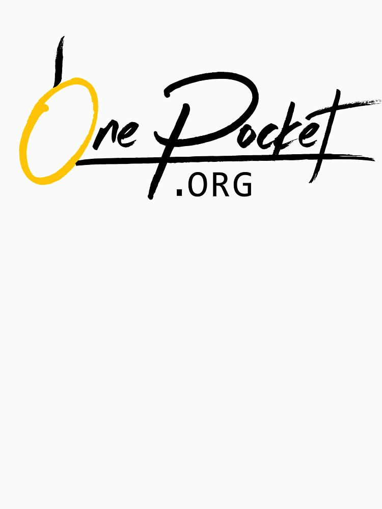 OnePocket.org Logo on White Background by onepocket
