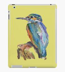 Stylised Pen & Ink Kingfisher iPad Case/Skin
