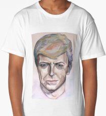 Watercolor David Bowie Long T-Shirt