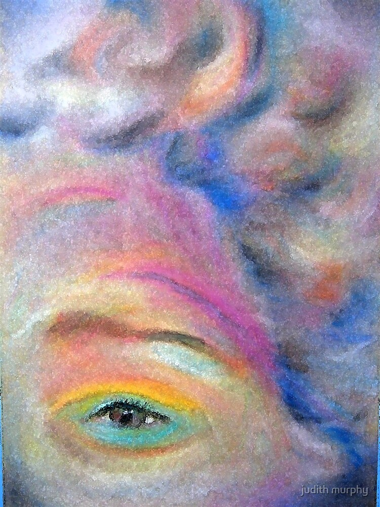 Pastel eye by judith murphy