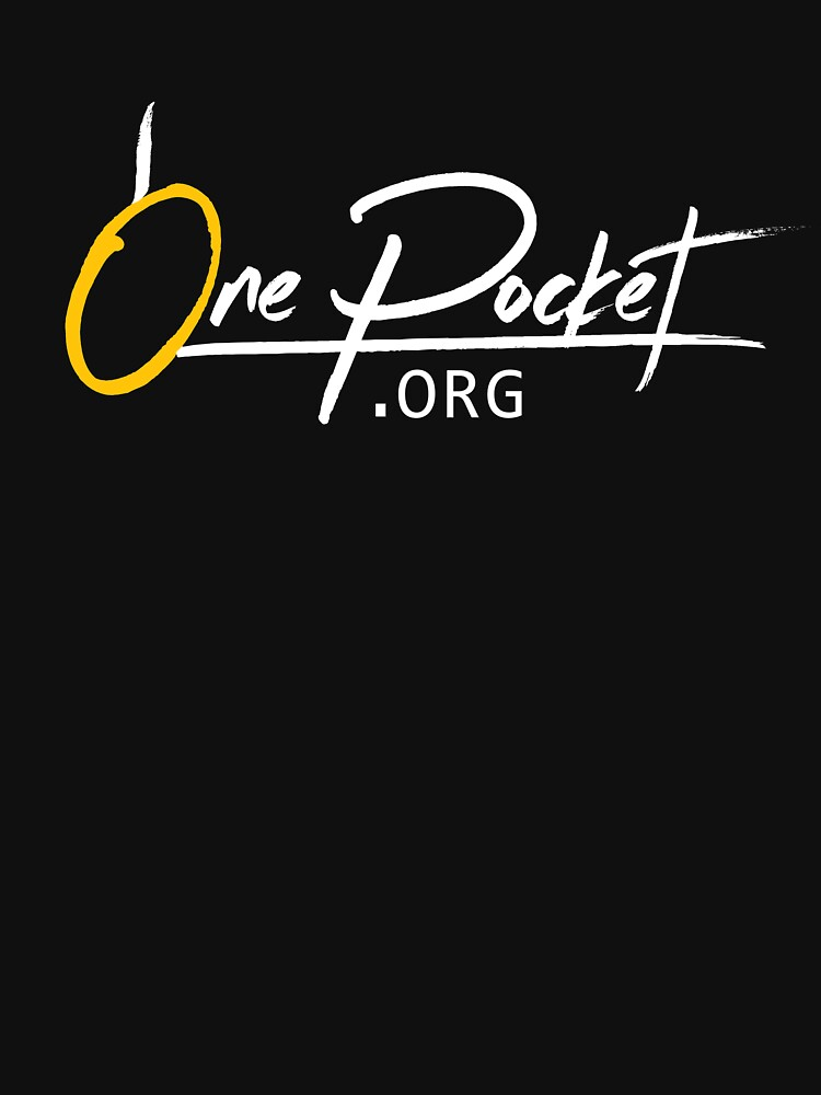 OnePocket.org Logo on Black Background by onepocket