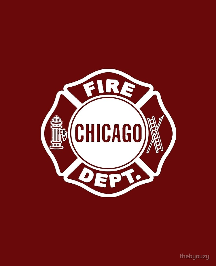 Chicago Fire Dept White Logo Ipad Case Skin By Thebyouzy