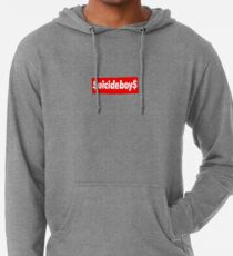 9e32383935256  uicideboy xSupreme Lightweight Hoodie