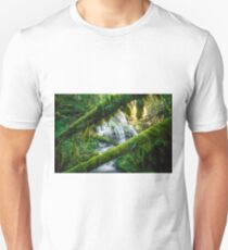 Panther Creek Falls - Gifford Pinchot Forest Unisex T-Shirt