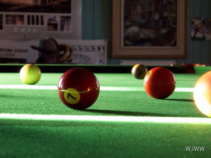 Playin' Pool by WJWW