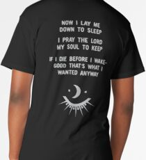 Now I Lay Me Down to Sleep (Remix Redesign) Long T-Shirt