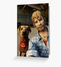 Life is Strange - Frank Selife Greeting Card