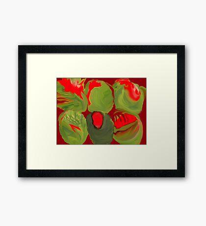 I'LL BRING OLIVES FOR MARTINI'S! Framed Print