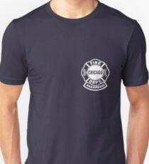 Chicago Fire Paramedic White Logo Unisex T-Shirt