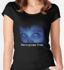 Porcupine Tree Fear of A Blank Planet Women's Fitted Scoop T-Shirt