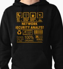 NETWORK SECURITY ANALYST - NICE DESIGN 2017 Pullover Hoodie