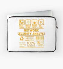 NETWORK SECURITY ANALYST - NICE DESIGN 2017 Laptop Sleeve