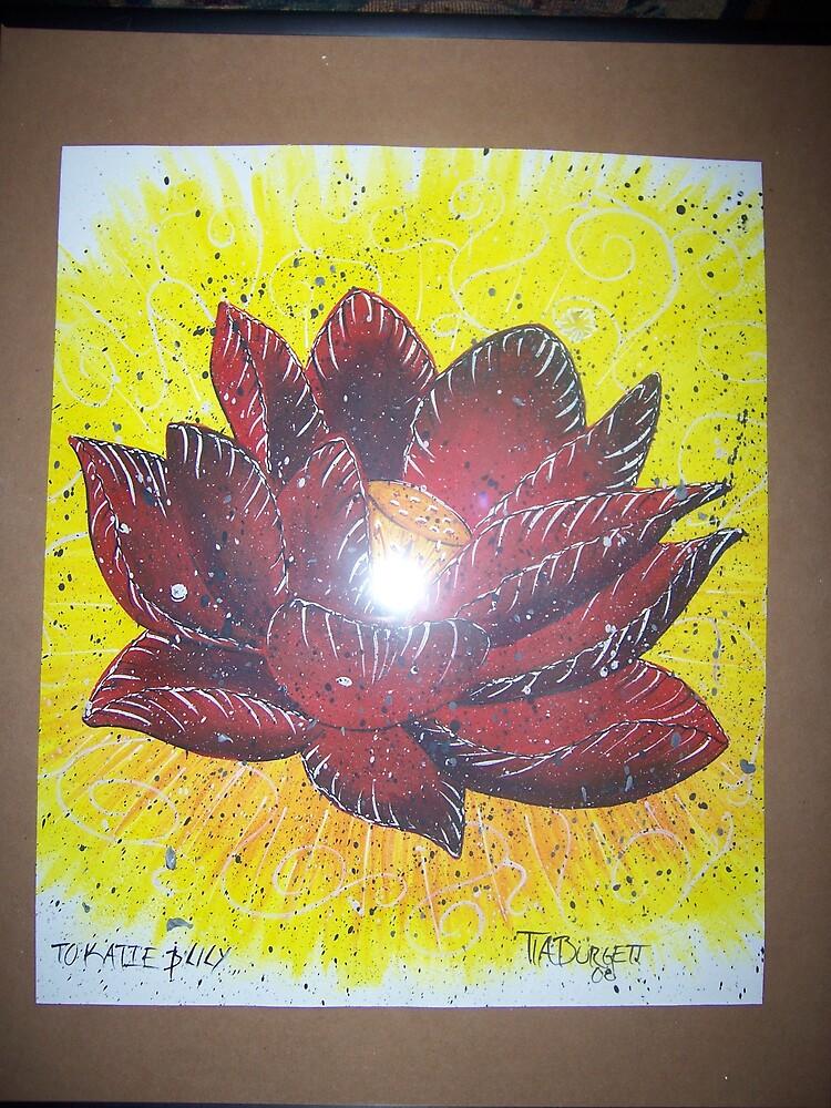 lotus by tiarenee