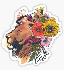 Leo Lion Sticker