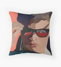 Baby Driver Throw Pillow