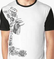 Lady Gaga Tattoos Graphic T-Shirt