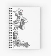 Lady Gaga Tattoos Spiral Notebook