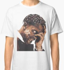 la flame travis rap Classic T-Shirt