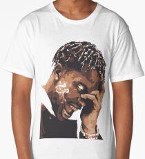 la flame travis rap Long T-Shirt