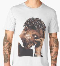 la flame travis rap Men's Premium T-Shirt