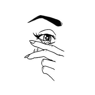 Eye Grunge T-shirt by arturpenteado
