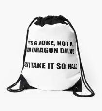 It's A Joke Drawstring Bag