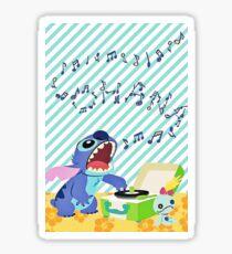 Musical stitch Sticker