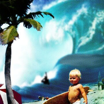 Little Surfer Dude by cainjohnson