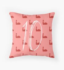 Ashley Johnston Riveters Pattern Throw Pillow