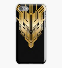 Hanging Cathedral: Black/Gold iPhone Case/Skin