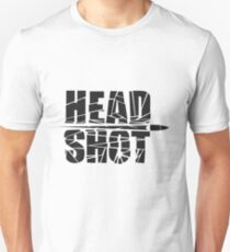 Headshot Black Gear T-Shirt