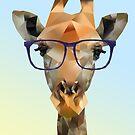 Hipster Giraffe by InkedDesigns