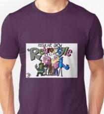 Regular Show Retrostyle Series Title Card T-Shirt