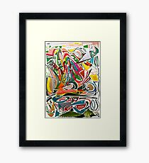 Cesar Manrique Moments 2 Framed Print
