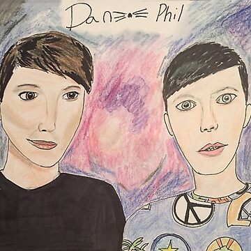 Dan and Phil in space by RoyalyReagan
