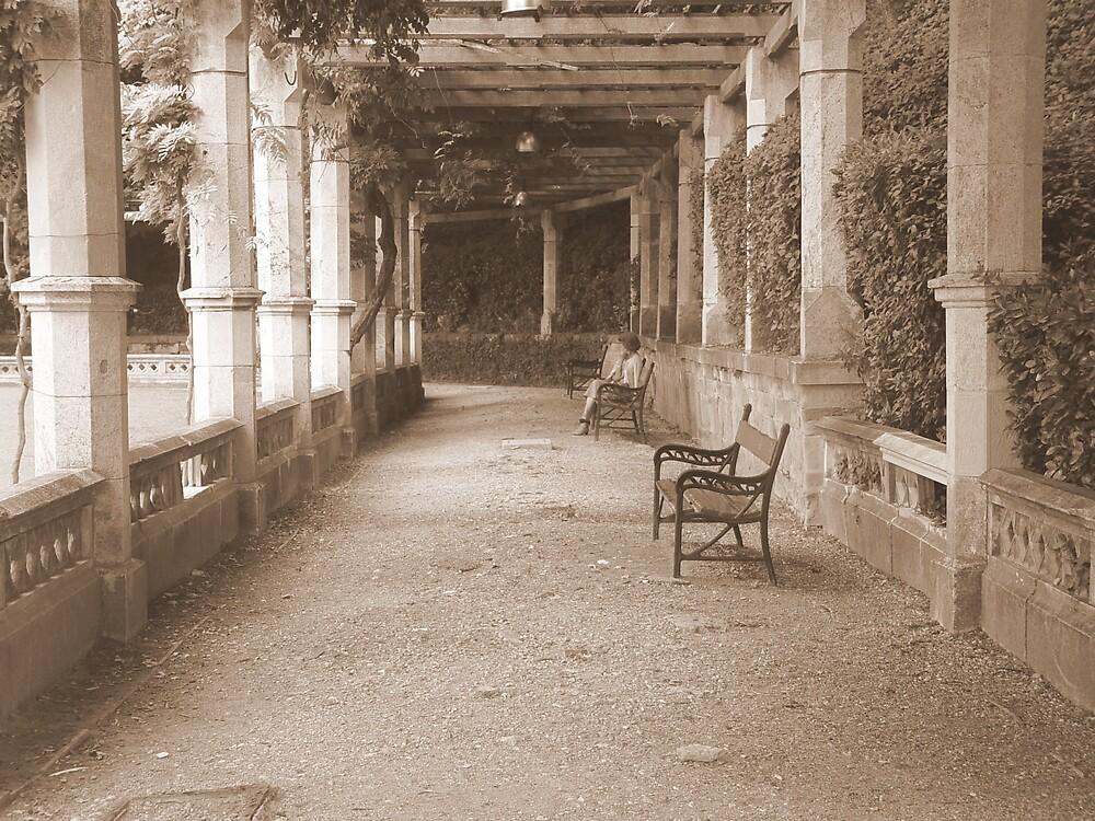 Park bench by traveler25