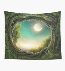Magic Moon Tree Wall Tapestry