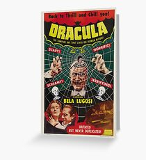 Dracula - 1931 - Bela Lugosi Greeting Card